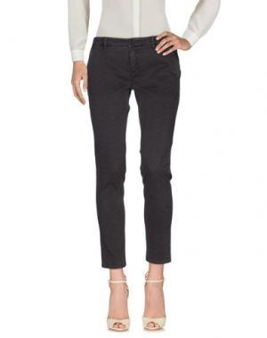 Повседневные брюки INX #THINK COLORED. Цвет: свинцово-серый