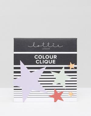 Lottie Набор макияжных корректоров Colour Clique. Цвет: мульти