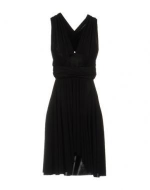 Платье до колена VON VONNI. Цвет: черный