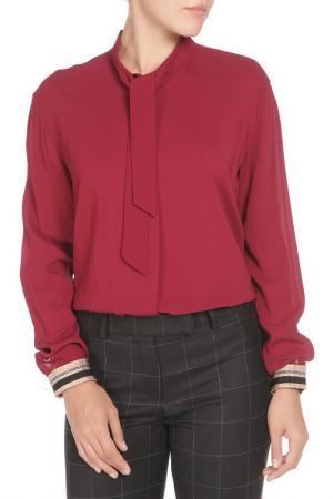 Свободная блузка с застежкой на пуговицы Cristina Effe. Цвет: 1384-6a 5, rubino