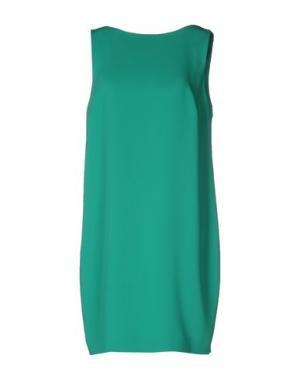 Короткое платье PIU' &. Цвет: зеленый