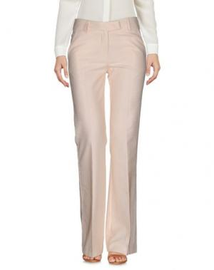 Повседневные брюки SOALLURE. Цвет: бежевый
