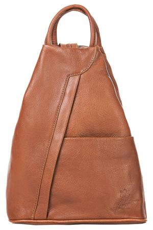 Рюкзак FLORENCE BAGS. Цвет: коричневый