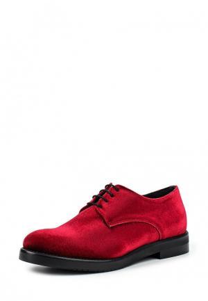 Ботинки Lamania. Цвет: бордовый