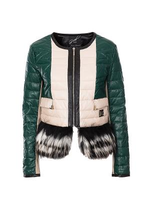 Куртка G.sel (Италия). Цвет: бежевый
