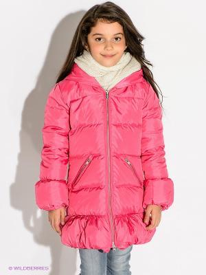 Пальто Bomboogie Kids. Цвет: розовый