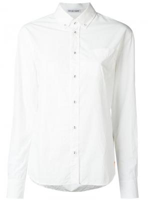Рубашка на пуговицах Tomas Maier. Цвет: белый
