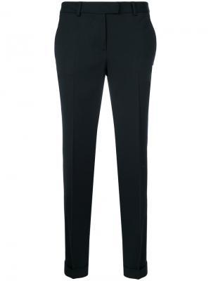 Cropped trousers Alberto Biani. Цвет: синий