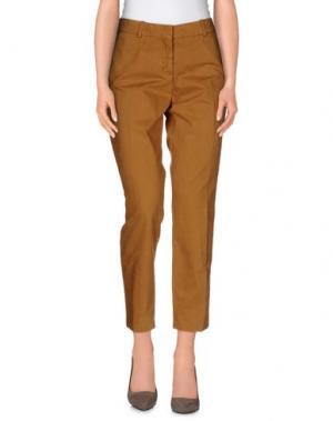 Повседневные брюки VINTAGE 55. Цвет: верблюжий