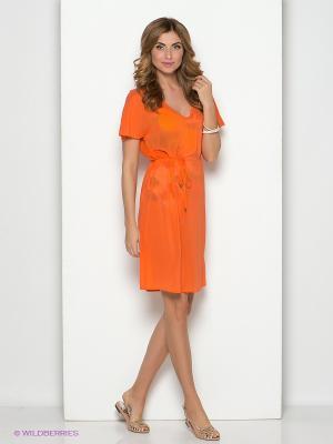 Платье Vaide. Цвет: оранжевый