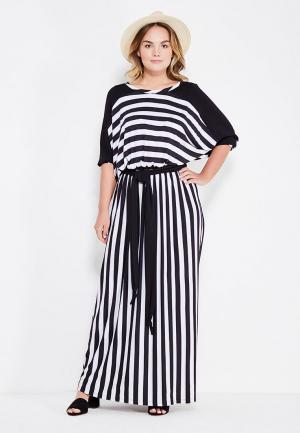 Платье Артесса. Цвет: черно-белый