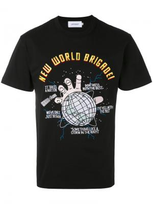 Футболка New World Joyrich. Цвет: чёрный