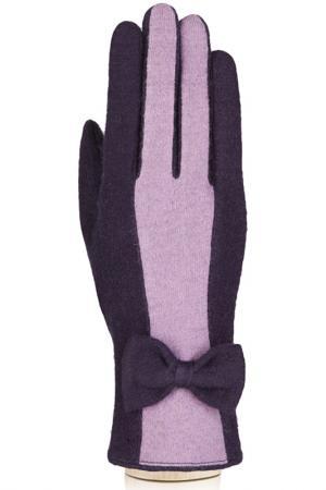 Перчатки Labbra. Цвет: темно-фиолетовый