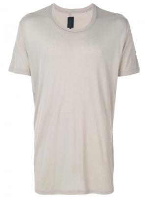 Базовая футболка Thom Krom. Цвет: телесный