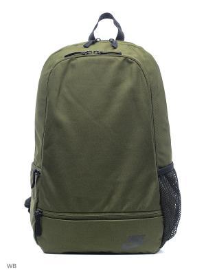 Рюкзак NIKE CLASSIC NORTH - SOLID. Цвет: хаки, черный