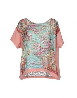 Блузка CUSTO BARCELONA. Цвет: светло-зеленый