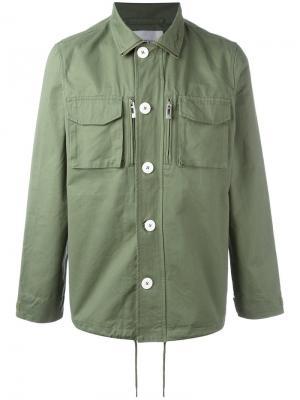 Куртка Outer Han Kjøbenhavn. Цвет: зелёный