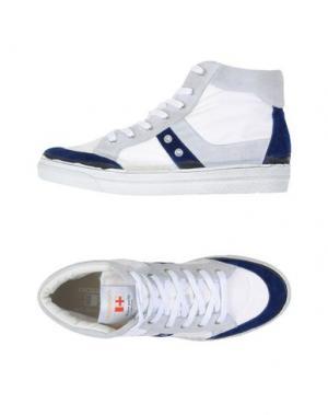 Высокие кеды и кроссовки D'ACQUASPARTA. Цвет: белый