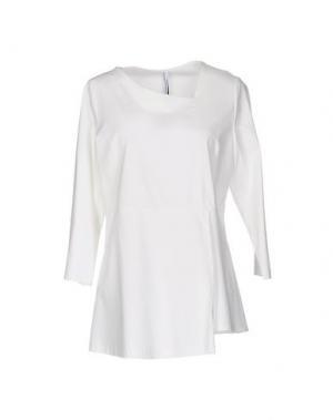 Блузка CORINNA CAON. Цвет: белый