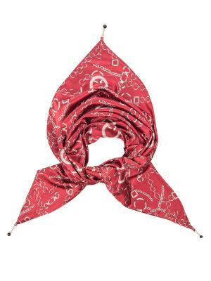 Платок женский Charmante. Цвет: красный