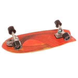 Скейт мини круизер  C7 Complete Swallow Assorted 9.75 x 29 (73.6 см) Carver. Цвет: красный