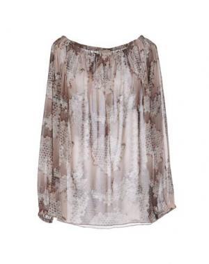 Блузка JIJIL. Цвет: светло-серый