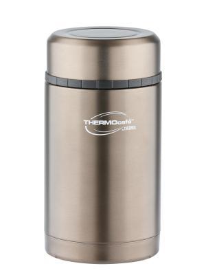 Термос со стальной колбой для еды VC-420 Grey, 420ml ThermoСafe by THERMOS. Цвет: серый
