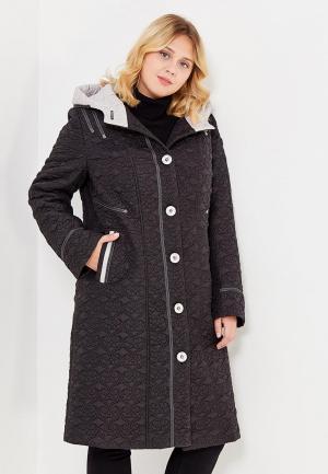 Куртка утепленная Brillare. Цвет: черный