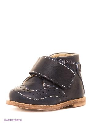 Ботинки Зебра. Цвет: темно-синий