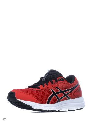 Спортивная обувь GEL-ZARACA 5 GS ASICS. Цвет: красный, серебристый, черный