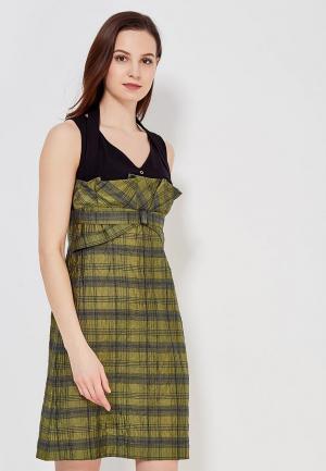 Платье Ано. Цвет: зеленый