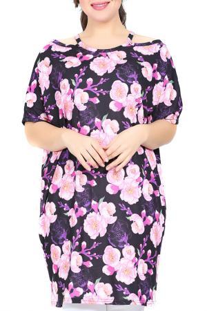 Платье VALERIA FRATTA. Цвет: мультицвет