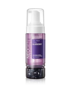 Пенка для умывания с ягодами черники Neogen Dermalogy. Цвет: фиолетовый, кремовый