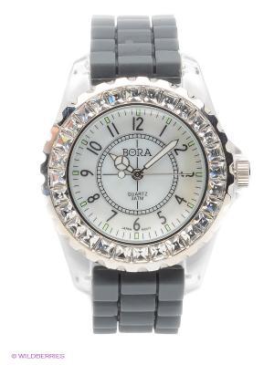 Часы Bora. Цвет: серый
