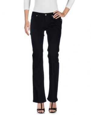 Джинсовые брюки 40BLUES. Цвет: черный