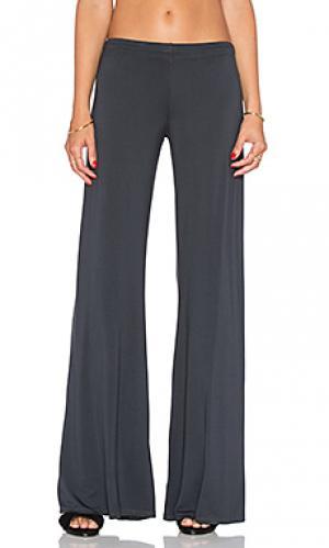 Широкие брюки derby Michael Lauren. Цвет: серый