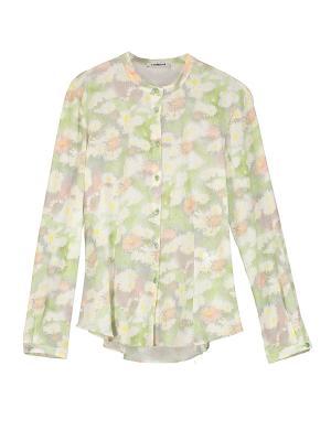 Блузка Cacharel. Цвет: светло-зеленый