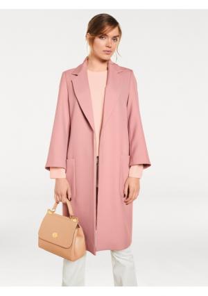 Пальто Rick Cardona. Цвет: дымчато-розовый
