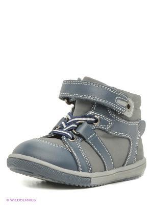 Ботинки PlayToday. Цвет: серый, синий