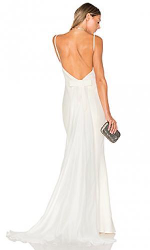 Вечернее платье abigail Elle Zeitoune. Цвет: белый
