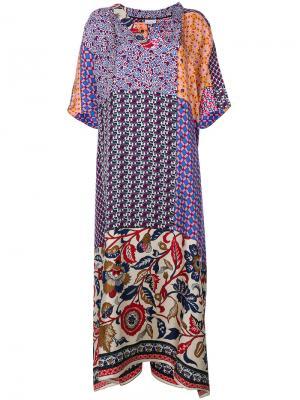 Платье Pierre-Louis Mascia. Цвет: многоцветный