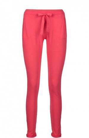 Спортивные брюки джерси Deha. Цвет: малиновый
