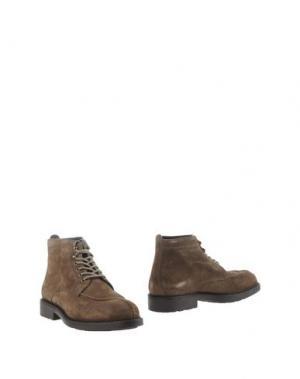 Полусапоги и высокие ботинки ZERO_571. Цвет: хаки