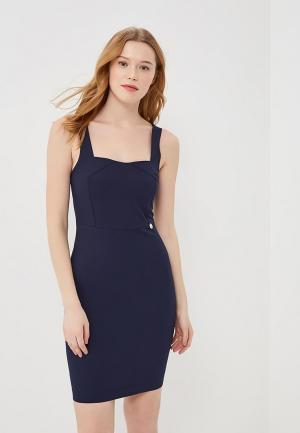 Платье Met. Цвет: синий