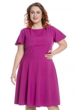 Платье Luxury Plus. Цвет: розовый