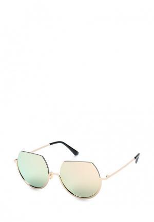 Очки солнцезащитные Taya. Цвет: розовый