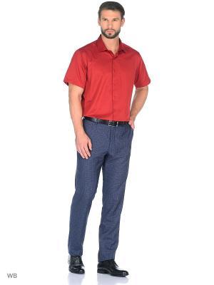 Рубашка BAWER. Цвет: бордовый
