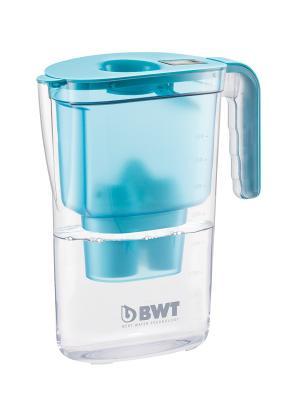 Фильтр-кувшин BWT Vida синий. Цвет: синий