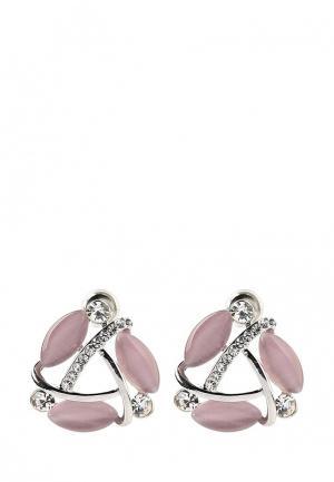 Серьги Taya. Цвет: розовый