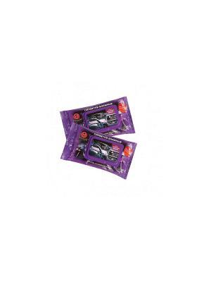 Салфетки влажные Techno для ухода за салоном автомобиля, 30 шт./упак Maneki. Цвет: фиолетовый
